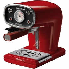 ARIETE 1388 RED COFFEE MAKER ESPRESSO RETRO(ΕΩΣ 6 ΑΤΟΚΕΣ ή 60 ΔΟΣΕΙΣ)