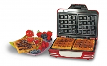 Ariete Party Time Waffle Maker 187 Βαφλιέρα (ΕΩΣ 6 ΑΤΟΚΕΣ ή 60 ΔΟΣΕΙΣ)
