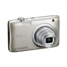 NIKON Coolpix A100 Silver + NIKON CS-S14 black case for S1000pj (ΠΛΗΡΩΜΗ ΕΩΣ 60 ΔΟΣΕ