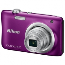 NIKON Coolpix A100 Purple + ΔΩΡΟ  NIKON CS-S14 black case for S1000pj (ΠΛΗΡΩΜΗ ΕΩΣ 60 ΔΟΣΕΙ