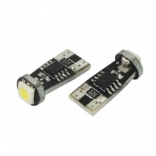 T10 Can Bus με 1 SMD 5050 Ψυχρό Λευκό 05111 (ΕΩΣ 6 ΑΤΟΚΕΣ ή 60 ΔΟΣΕΙΣ)