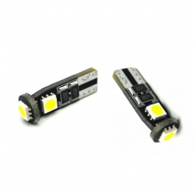 T10 Can Bus με 3 SMD 5050 Ψυχρό Λευκό 04471 (ΕΩΣ 6 ΑΤΟΚΕΣ ή 60 ΔΟΣΕΙΣ)