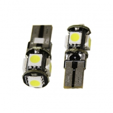 T10 Can Bus με 5 SMD 5050 Ψυχρό Λευκό 04472 (ΕΩΣ 6 ΑΤΟΚΕΣ ή 60 ΔΟΣΕΙΣ)