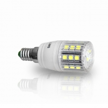 LED Corn LMS E14 24 SMD 5 W Dimmable Ψυχρό Λευκό (ΕΩΣ 6 ΑΤΟΚΕΣ ή 60 ΔΟΣΕΙΣ)